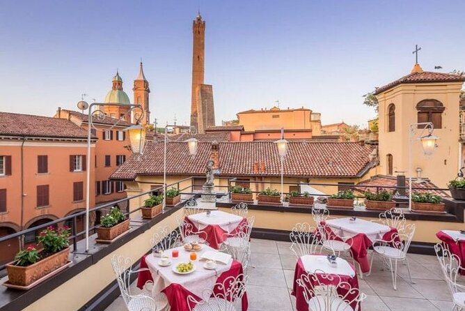Italian Wine Tasting on the Panoramic Terrace in Bologna