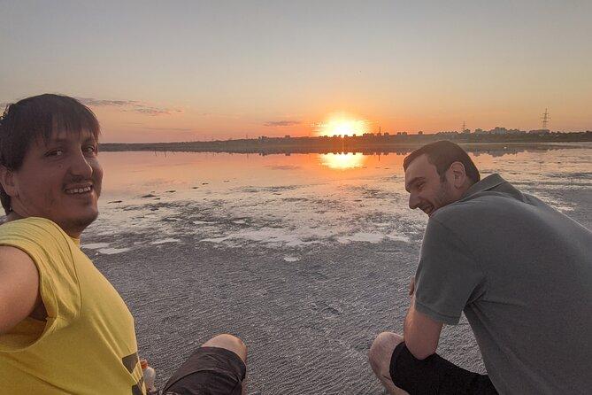 Sunrise walking Odesa suburb overview tour
