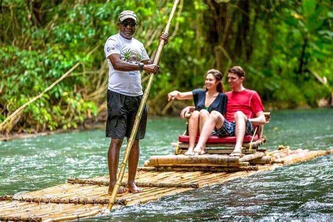 Private White River Bamboo Rafting Experience from Ocho Rios