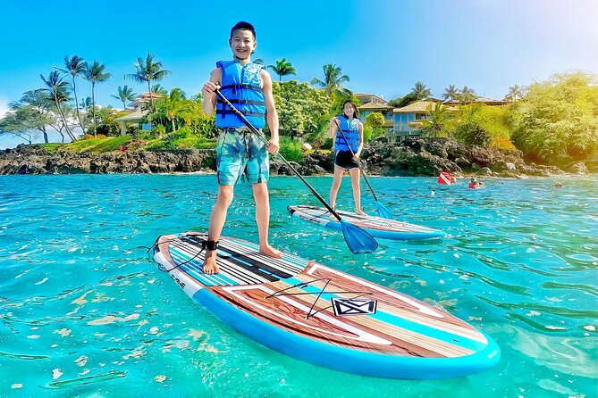 Private Stand Up Paddle Boarding Tour in Maui