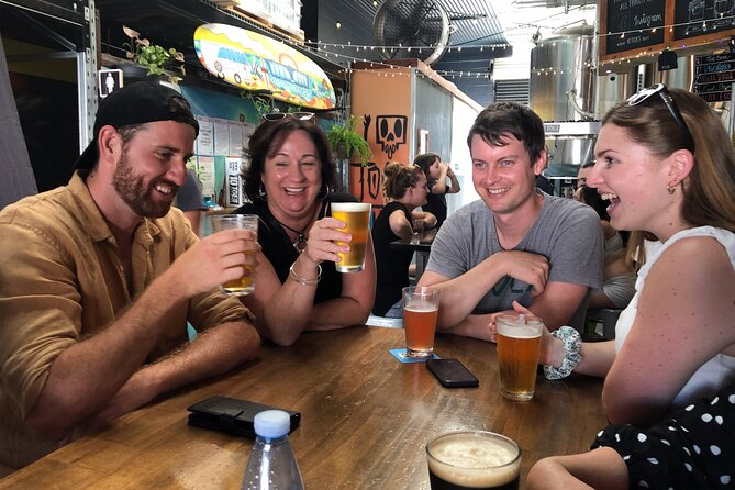 Sunshine Coast Brewery Tour with Lunch & Tasting Paddles - Private Tour Min 6