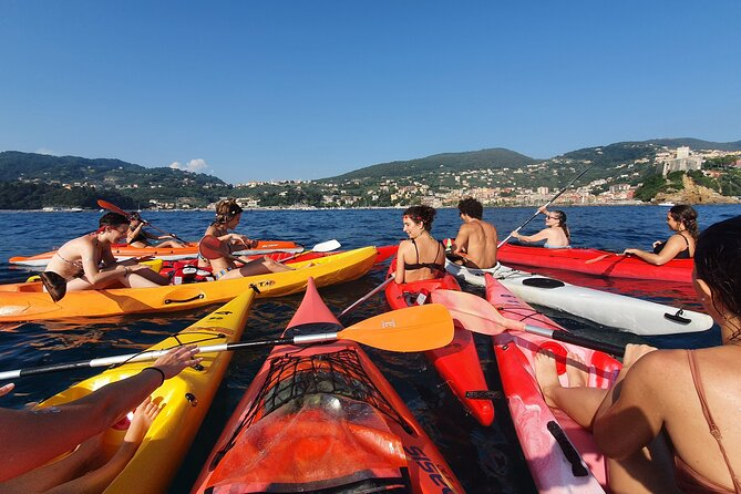 Guided Kayak Tour in the Bay of Poets