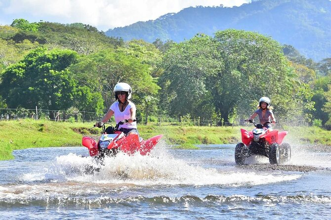 ATV Tour in Jaco Beach, enjoy Jungle, River, and Beach - No large groups