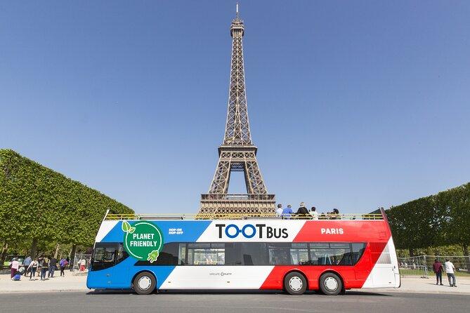 Tootbus Paris Discovery + By Night