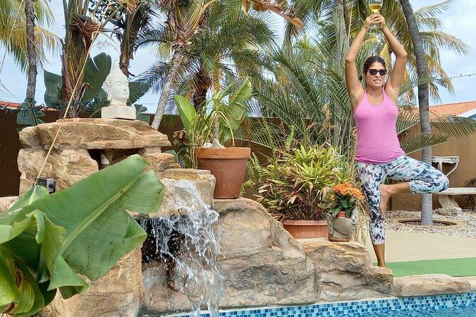 Yoga Class and Wine in Oranjestad
