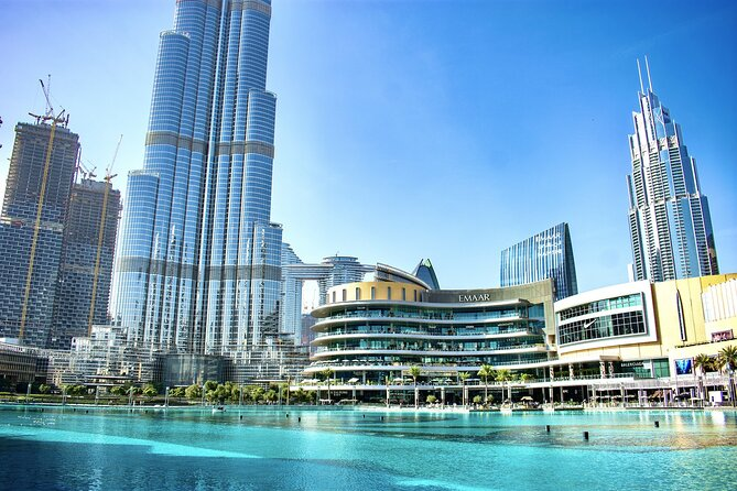 Burj Khalifa Tickets at the top (Level 124 and 125)