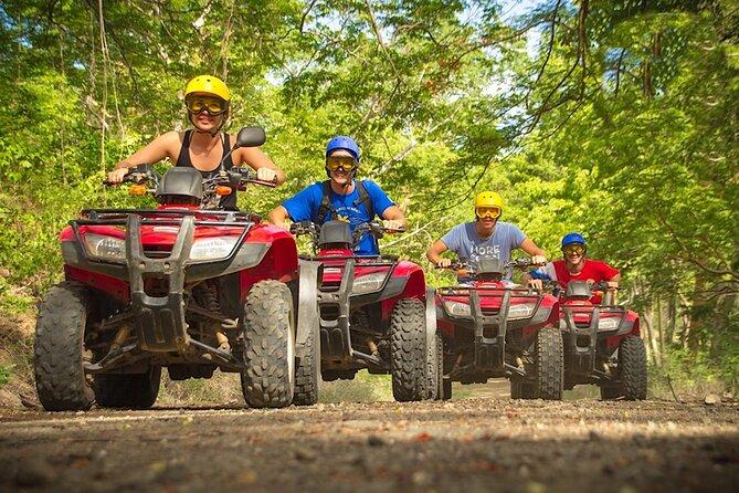 ATV, Six Ziplines, Cenote, Cave & Lunch