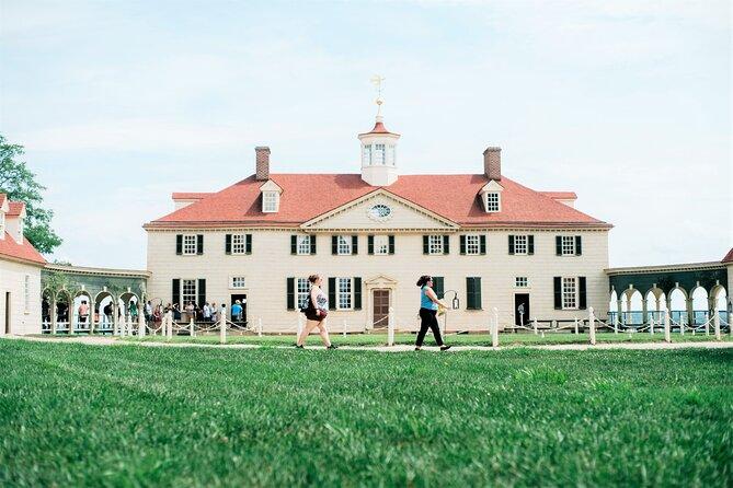 Full-Day Tour of Washington DC with Mount Vernon & Old Alexandria