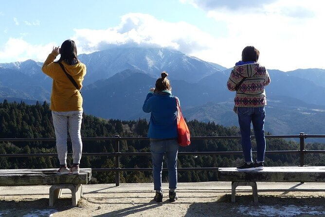 Tsumago and Magome in Kiso Valley one day tour from Nagoya with a private van