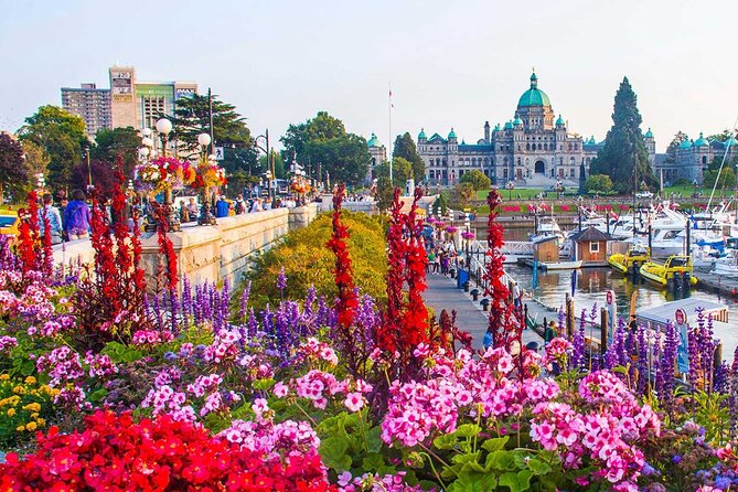 Downtown Victoria's Historical Heart: A Self-Guided Walking Tour
