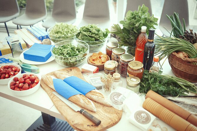 Private Mediterranean Fish Cooking Workshop with Irena