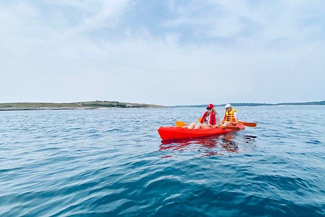 Kayak Tour Medulin Islands Ceja and Bodulas