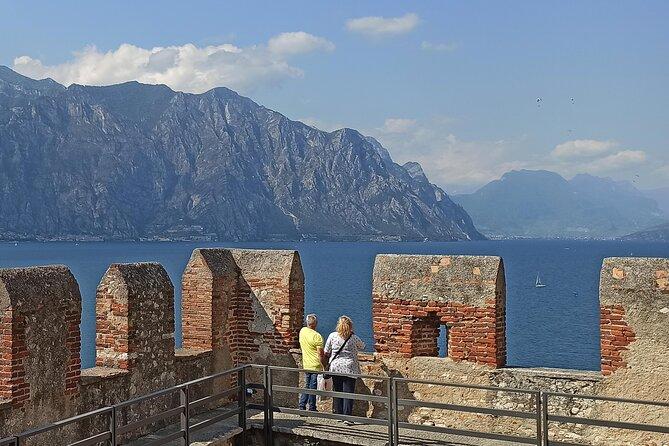 The Castle in Malcesine overlooking Lake Garda