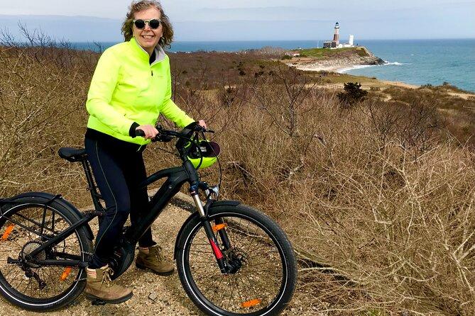 Electric Bike Tour at Montauk Point