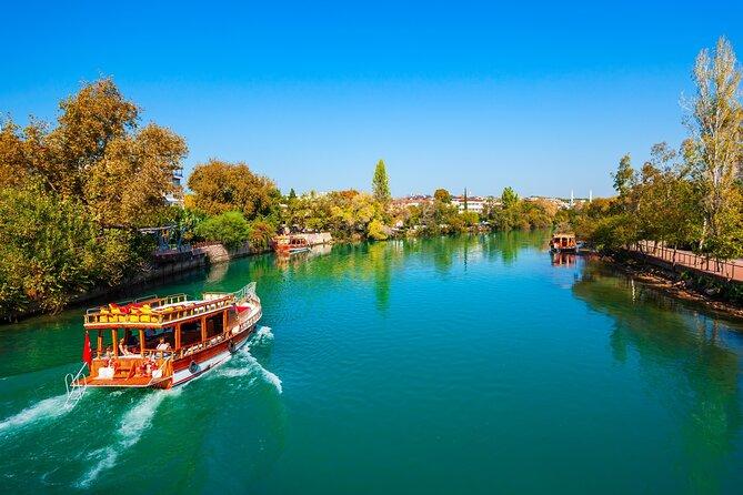 Manavgat-Bootstour mit Großem Basar von Belek