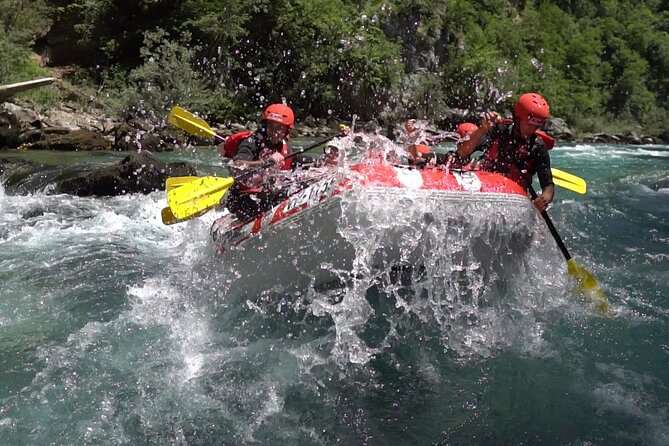 Tara river rafting - canyon and zip line tour from Podgorica city