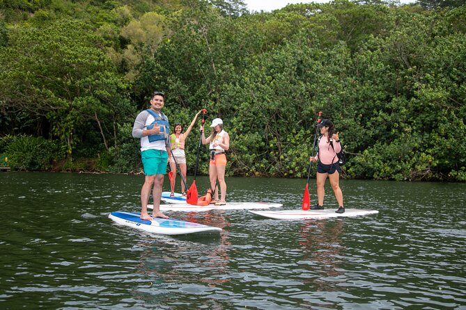 Secret Waterfall Paddle Board Adventure with photos