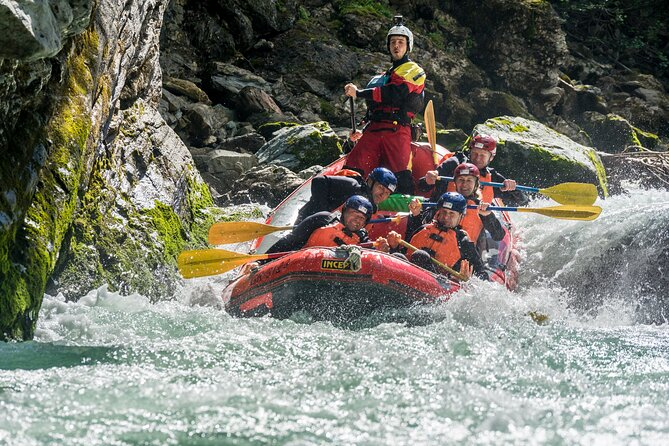 Whitewater Action Rafting Experience in Engadin