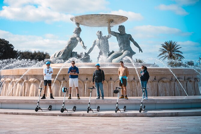 Small-Group E-Scooter Malta Sightseeing Tour