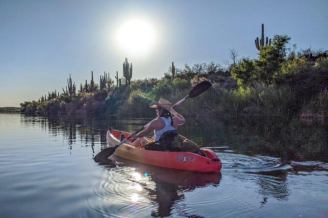 Guided Sunset Kayak Tour on the Salt River