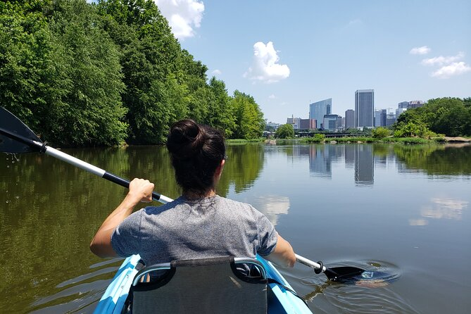 Tandem Kayak Experience in Richmond - The Skyline Experience