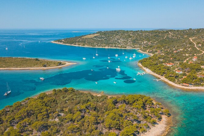 Private Boat tour to the Blue Lagoon & Solta - Swim, Snorkel, Tan and Relax!