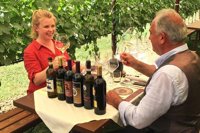 San Gimignano Vineyard Dinner and Wine tasting