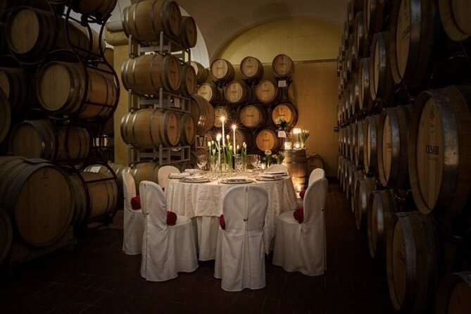 San Gimignano Candlelight Romantic Dinner and Wine in Tuscany