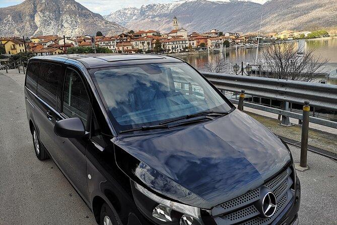 Malpensa to Stresa or Stresa to Malpensa Private Taxi Transfer with David