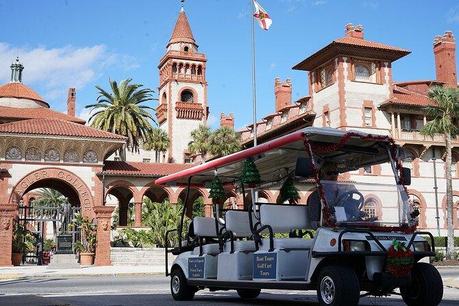 St Augustine Shared Golf Cart Tour