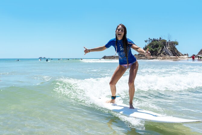 Half Day Guided Surf Lesson in Byron Bay