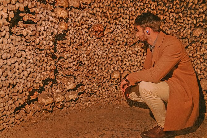 Paris Catacombs Skip-the-Line Ticket with Self-Guided Tour