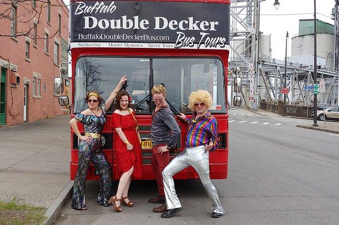 Disco Murder Mystery Performance-Double Decker Bus in Buffalo