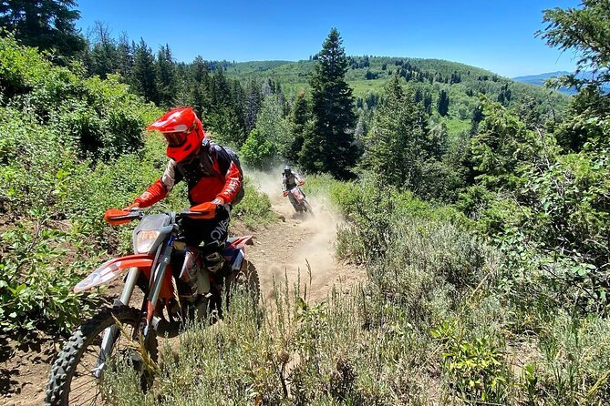 Northern Utah Single Track Moto Tour