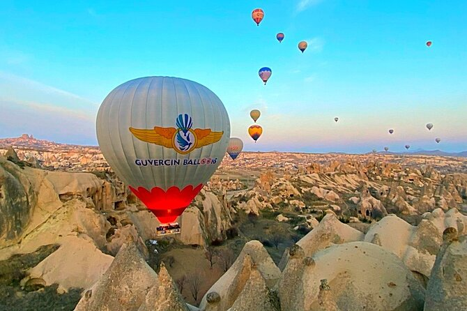 Exclusive Hot Air Balloon Rides over Spectacular Cappadocia and Champagne Party!
