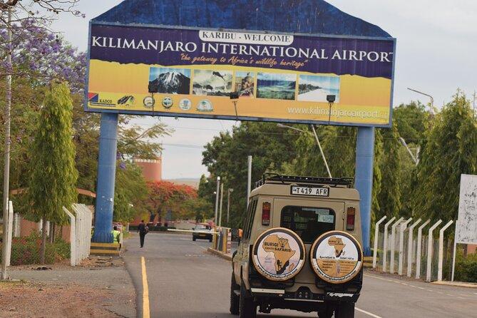 Budget Kilimanjaro Airport Pick-up to Moshi/Arusha | BURIGI CHATO SAFARIS LTD