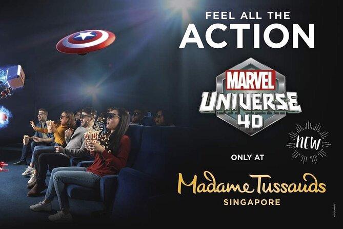 Madame Tussauds Singapore Ticket