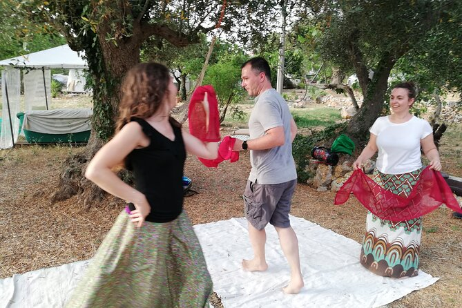 3-Hour Pizzica and Taranta Dance Class in Ceglie Messapica