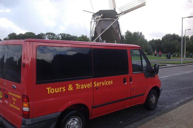 Transfer from Eindhoven Airport to Amsterdam