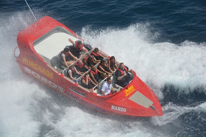 Super Fun adrenaline Parasailing Twister Boat With Private transport - Hurghada