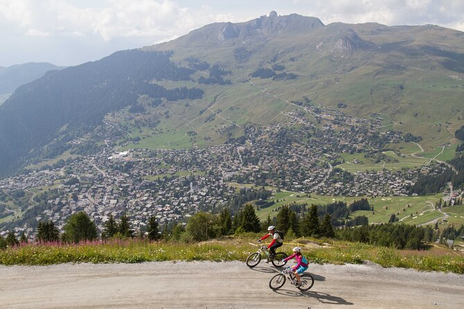 Half-Day Small-Group E-Bike Tour in Verbier
