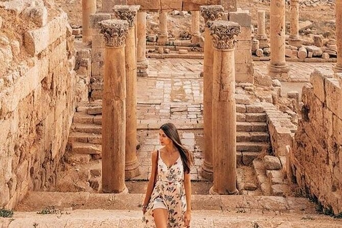 Amman City Tour & Jerash Day Trip from Dead Sea or Airport or Madaba