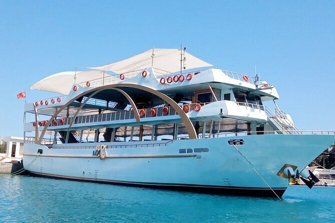 Turkey Mediterranean coast Boat Tour from Antalya with lunch