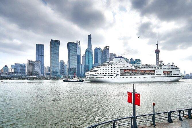 Terminal internacional de cruzeiros do porto de Xangai