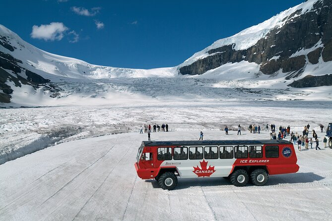 3-D Tour Banff - Columbia Icefield - Jasper from Calgary (Airport Transfer)