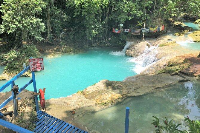 Blue Hole Secret Falls and Horseback Riding