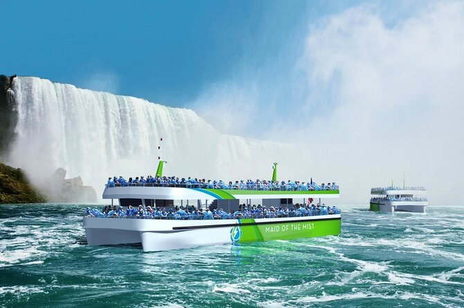 All Attractions Niagara Falls USA Side Tour With Boat Ride and Cave Of Winds
