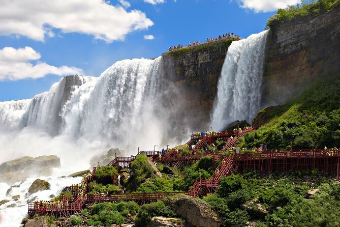 Discovery Niagara Falls USA Side Tour with Boat tour & Cave of the winds