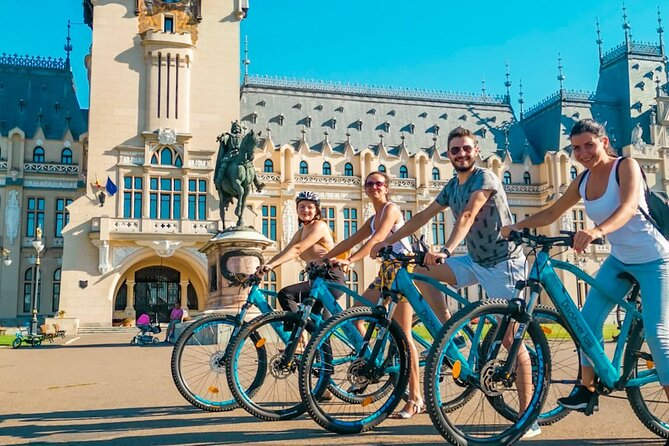 Rent an electric bike and discover Iasi