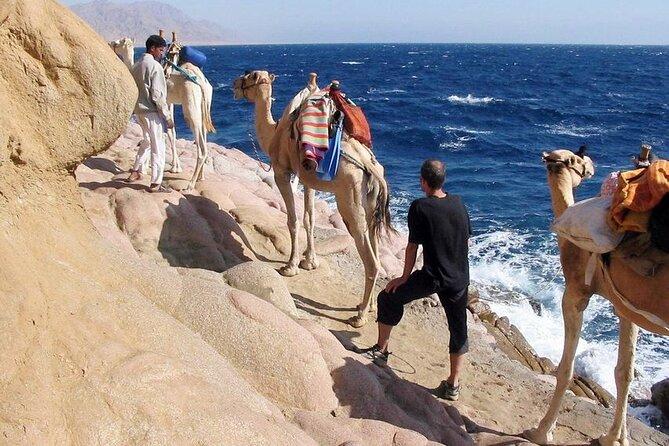 Blue Hole National Park by Bus& Canyon Salma Camel ride & Lunch-Sharm El Sheikh